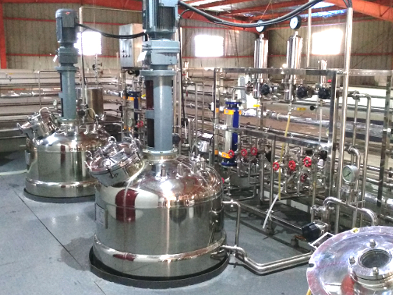 Fully automatic fermenter system for liquid strain of Monascus